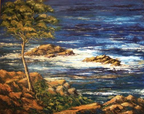 1638-Costa Brava 73x92