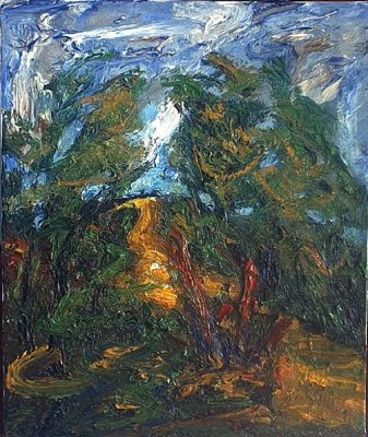 Paisatge (Camí de Caldes), cuadro Paisatges de Blanco Grané