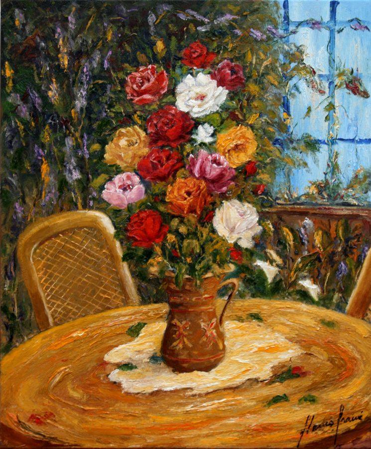 Temps de Flors, cuadro Bodegons de Blanco Grané