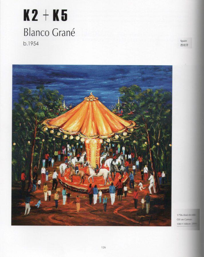 Blanco Grané al catàleg de Taipei