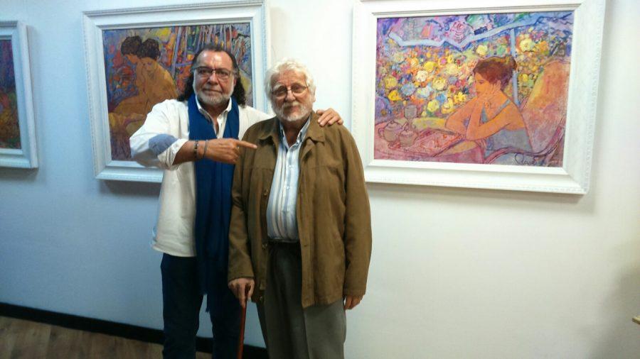 Blanco Grané amb Joan Raset