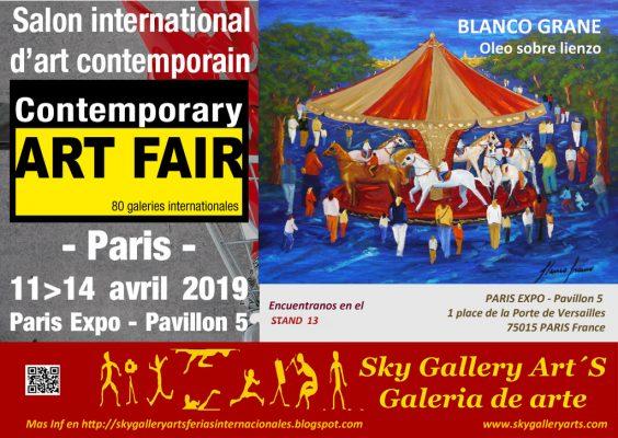 Exposición Blanco Grané a Art Fair