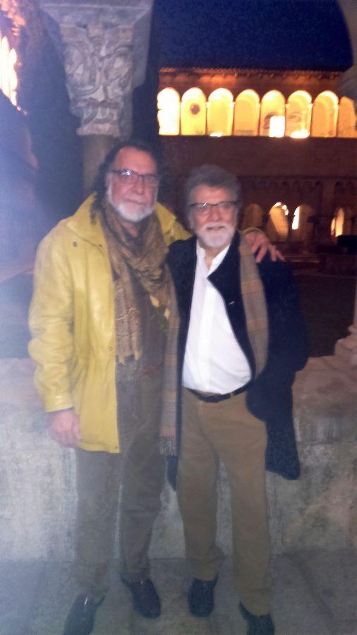 Blanco Grané amb Lluís Ribas