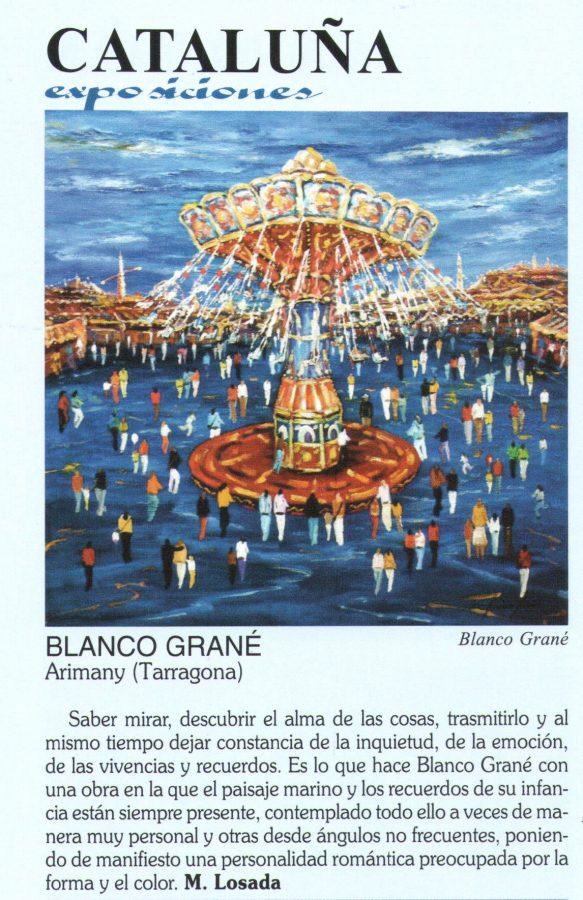 Blanco Grané a Gal Art