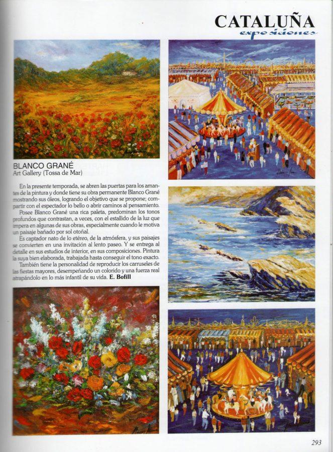 Blanco Grané, artista-pintor de Tossa de Mar
